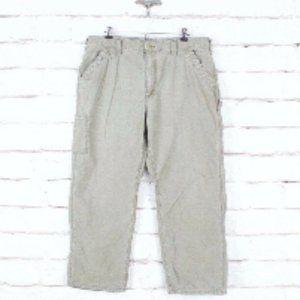 CARHARTT Dungaree Fit Work Carpenter Pants Size 40
